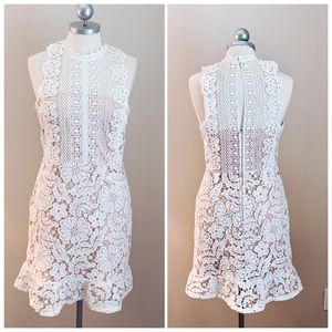 Lace Overlay Dress By Altar'd State Sz. S NWT